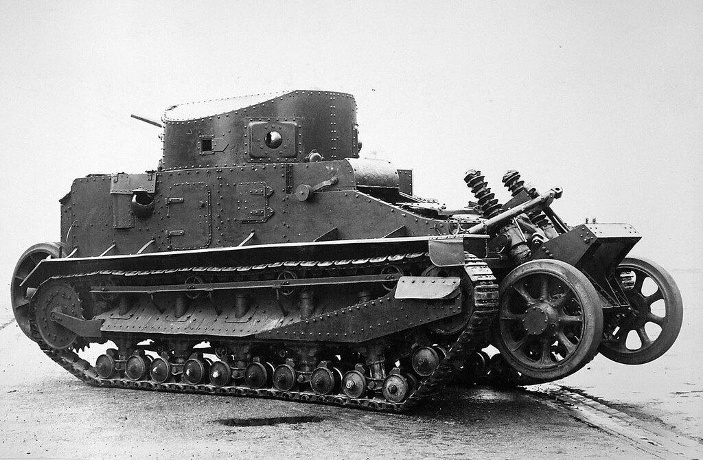 Vickers Wheel-Cum-Track Tank Mk.I, 1926