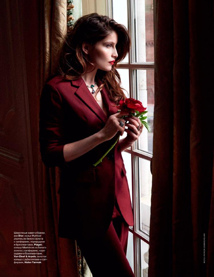 Летиция Каста (Laetitia Casta) в журнале Tatler Russia (5 фото)