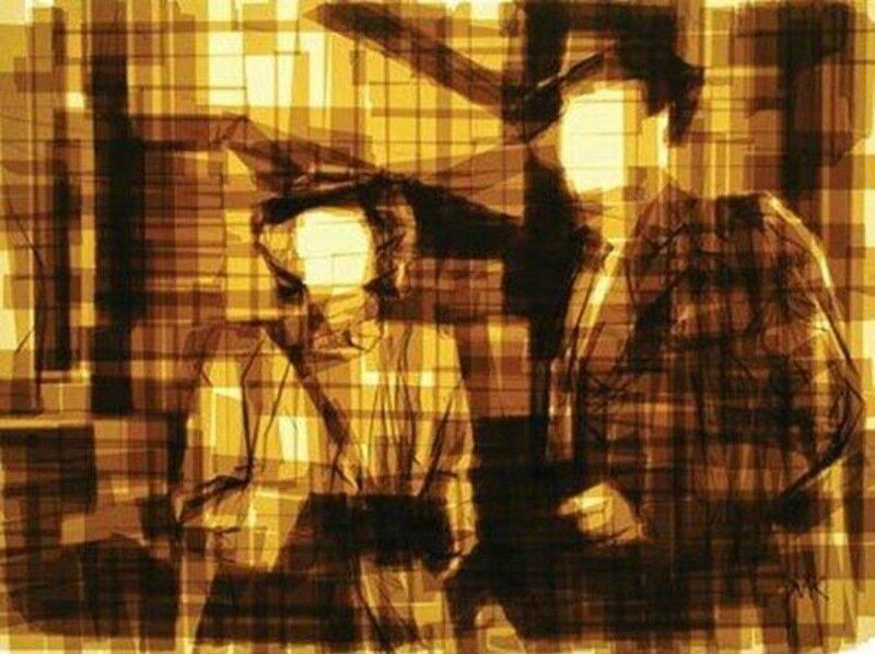 Марк Хайсман: Удивительные живые рисунки из скотча