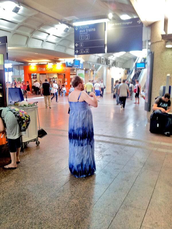 Франция_ЛИОН_на вокзале