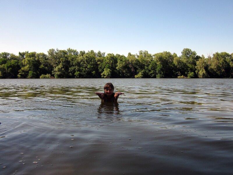 Переплыть через Донец