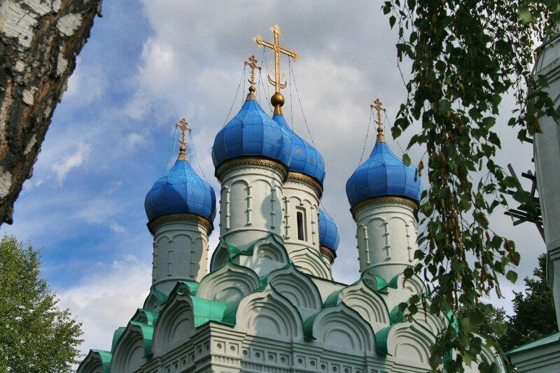 Батюшково, Купола Никольского храма