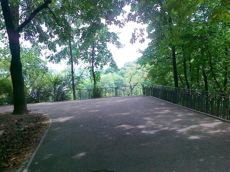Угол парка на Владимирской горке
