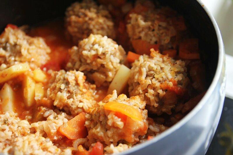 Фрикадельковый суп рецепт с рисом 133