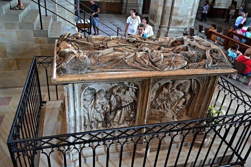 Захоронения Генриха Святого и его жены Кунигунды