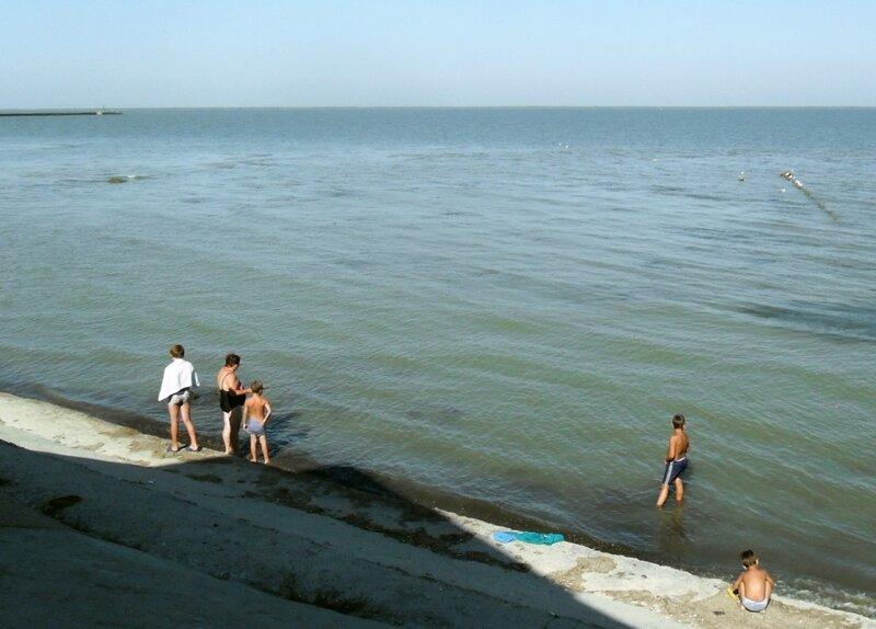 У моря, июль