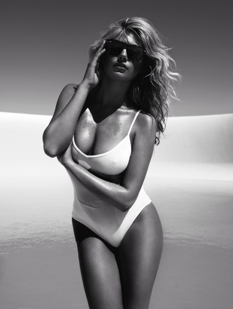 модель Кейт Аптон / Kate Upton, фотограф Miguel Reveriego