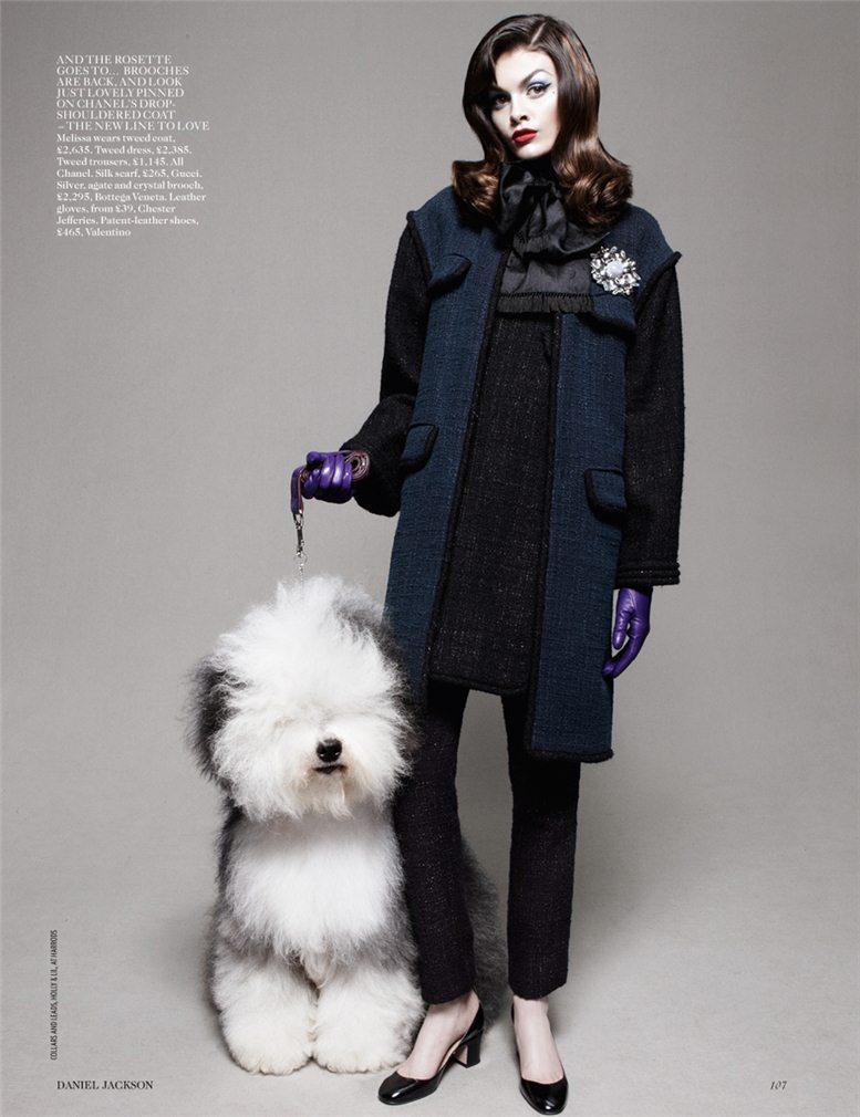 Best In Show - Melissa Stasiuk / Мелисса Стасюк, фотограф Daniel Jackson в журнале Vogue UK, август 2012