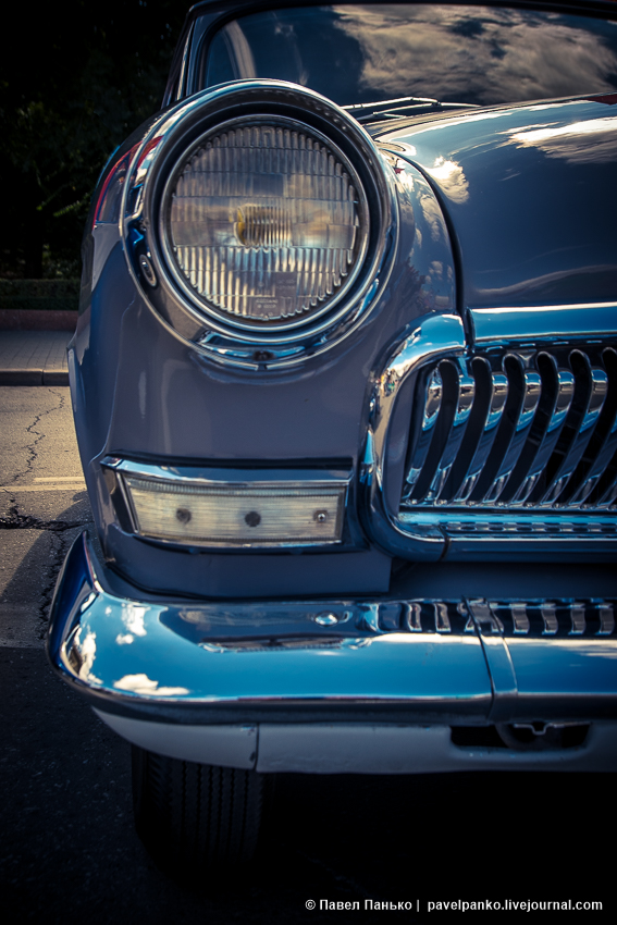 ретро-автомобили чайка