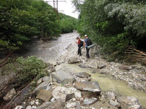 Еще река