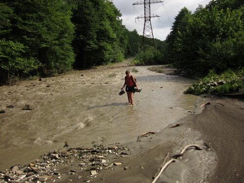 Я иду через реку