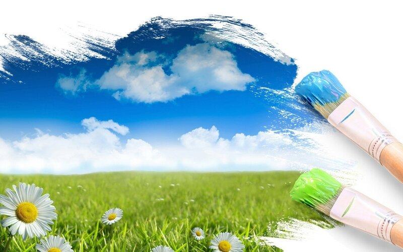 Нарисуем лето сами, рисунок, лето,цветы, природа, оригинал.