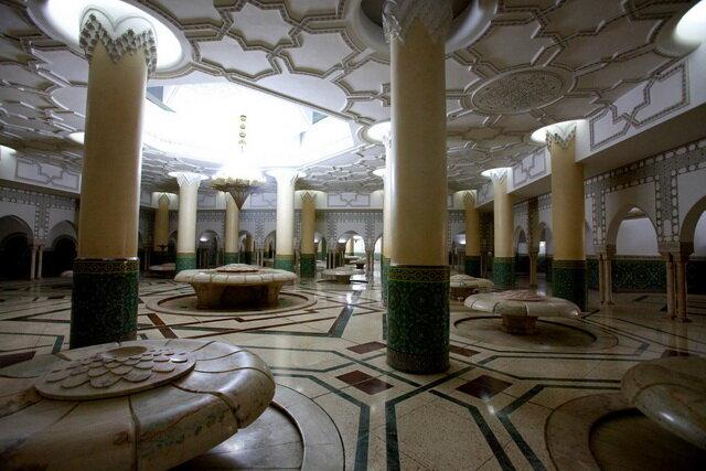 Мечеть Хассана II. Касабланка, Марокко