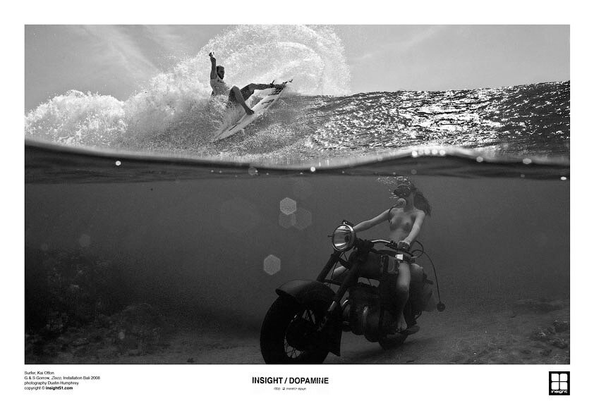 Фантастическая подводная фотосессия Dustin Humphrey
