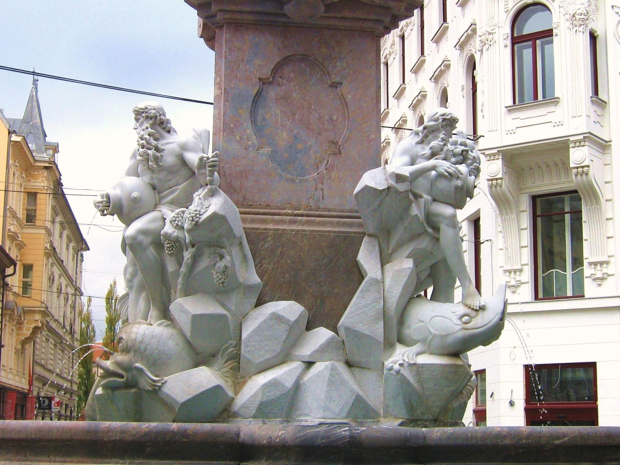 фонтан реки Карниолии