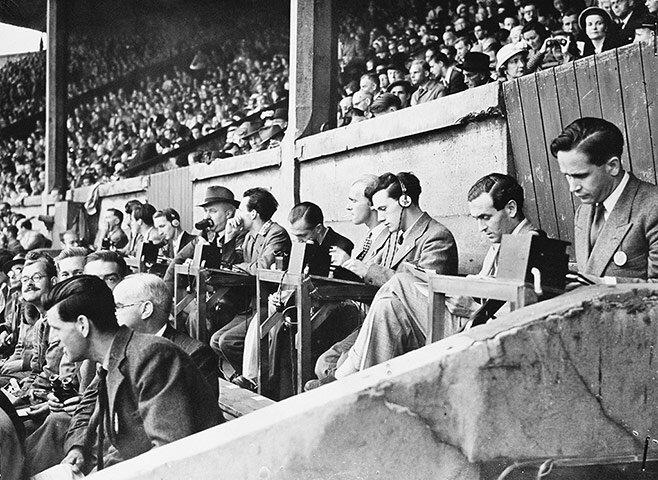 Фото Олимпийских игр в Лондоне 1908, 1948 и 2012 годов.