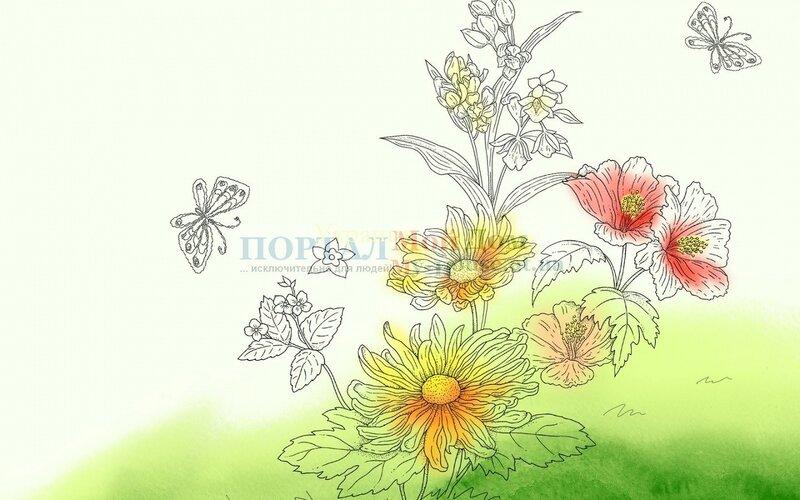 DepositFiles Скачать Нарисованные цветы с depositfiles.com Одним файлом LetitBit Скачать Нарисованные цветы с...