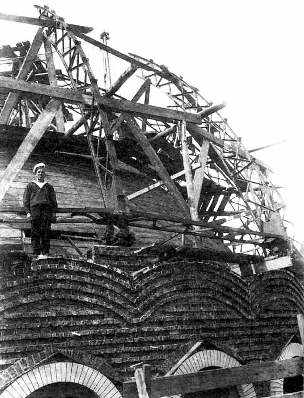 Строительство купола Морского собора