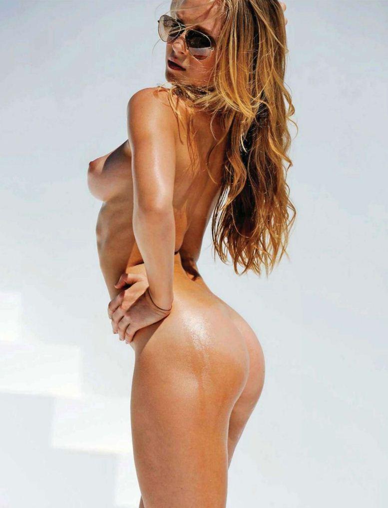 Участница Олимпиады, немецкая спортсменка Регина Сергеева (Regina Sergeeva) в журнале Playboy Germany, август 2012