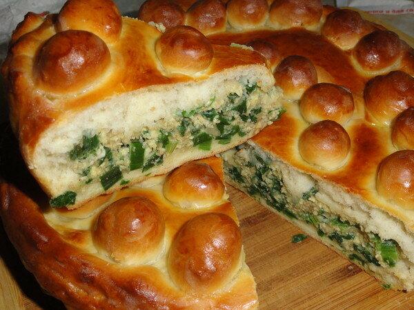 Пирог с луком и яйцом рецепт с пошагово в духовке дрожжевой
