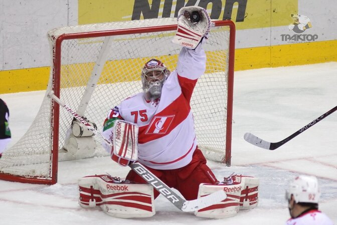 «Трактор» vs «Спартак» 4:0 чемпионат КХЛ 2012-2013 (Фото)