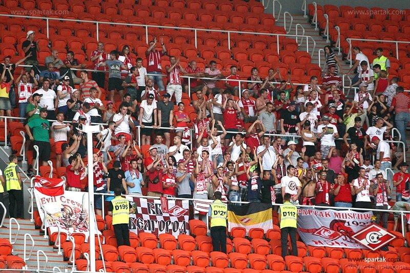 «Шахтер» vs «Спартак» 1:0 товарищеский матч 2012 (Фото)