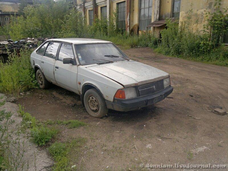 Москвич-2141, территория ПТОЛ Ховрино.