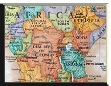 Кения на карте. Фото zenmaster8 - Depositphotos