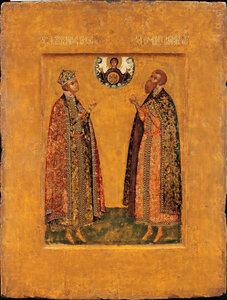 Святые Димитрий царевич и князь Роман Угличский
