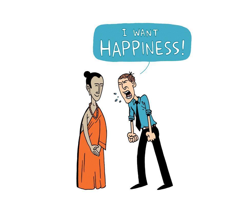 Философский комикс: Я хочу счастья