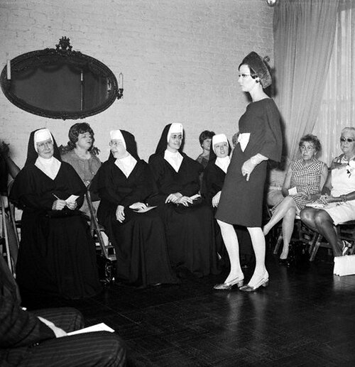 Nuns Attend Fashion Show