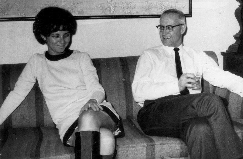 Carole and Fran c 1969