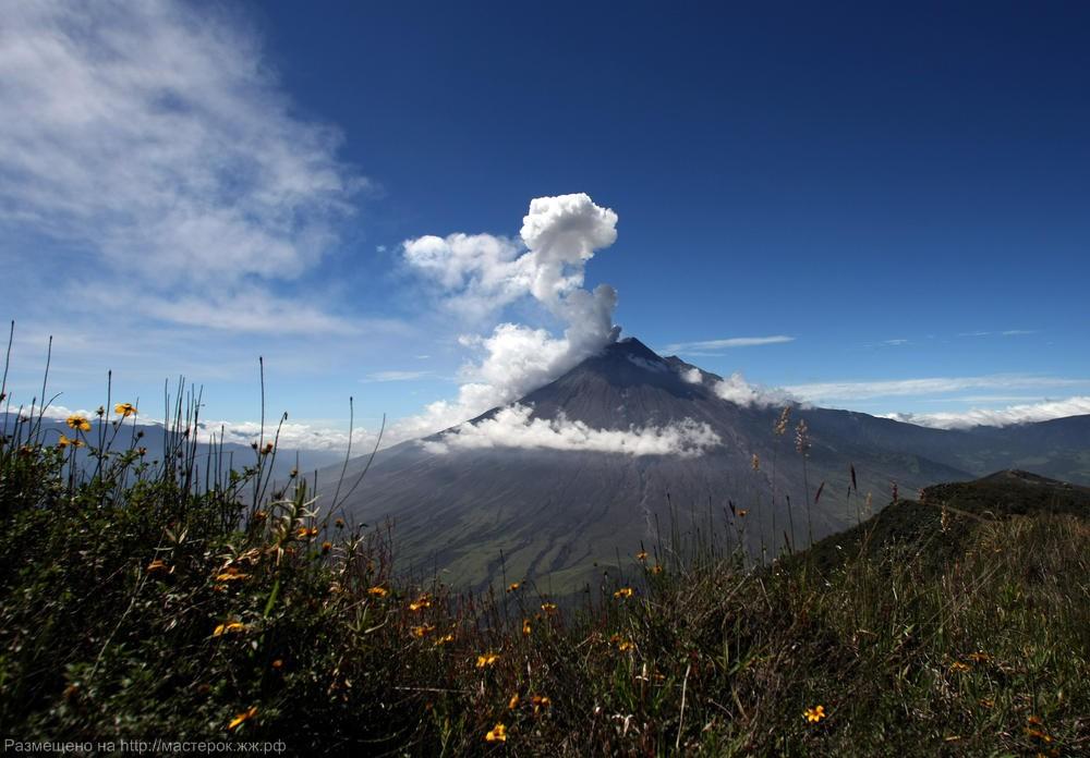 APTOPIX Ecuador Tungurahua Volcano