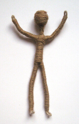 Как сделать куклу из проволоки своими руками 87