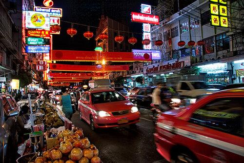 новогодний Чайна-таун в Бангкоке