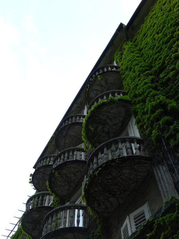 Балконы отеля Топлице