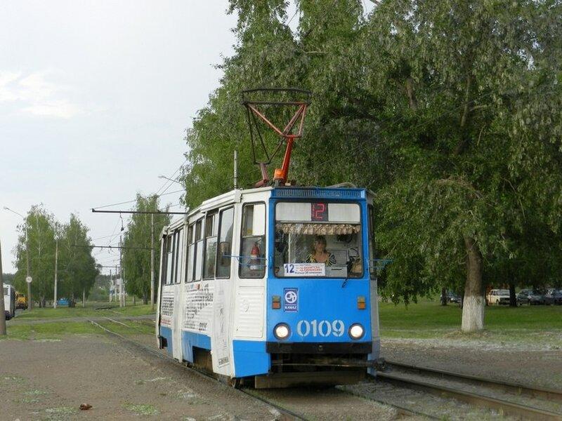 Набережные Челны, трамвайный вагон 0109.