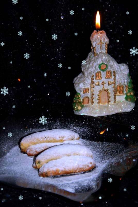 Печенье мини-штоллен