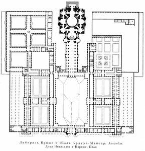 Ансамбль Дома Инвалидов в Париже. Архитектор Либераль Брюан и Жюль Ардуэн-Мансар