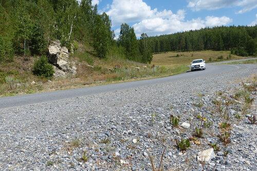 Дорога через уральские горы
