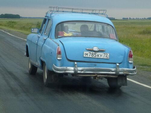 Старая Фолга на трассе Тюмень-Омск