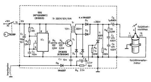 diagram ignition DC CDI.»