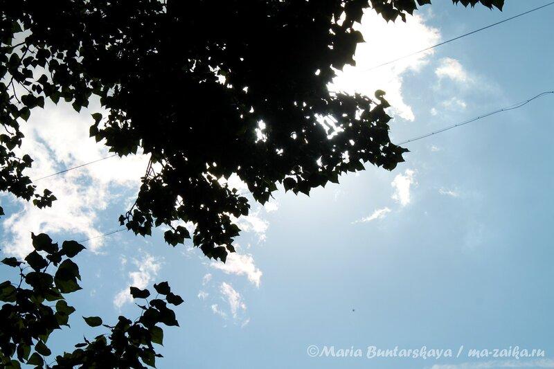 Ещё немного неба для успокоения. Саратов, 21 июля 2012 года