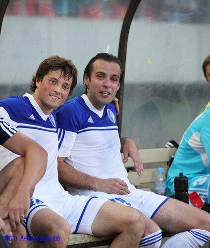 16 июля 2012 г. Авторы голов : Пётр Гицелов и Любомир Кантонистов .