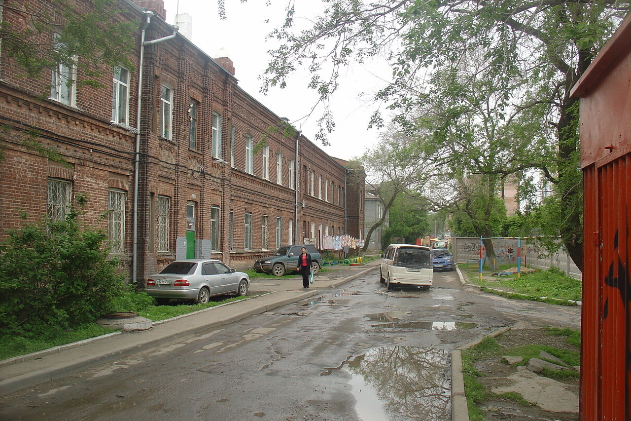 Владивосток. Улица Крыгина 5