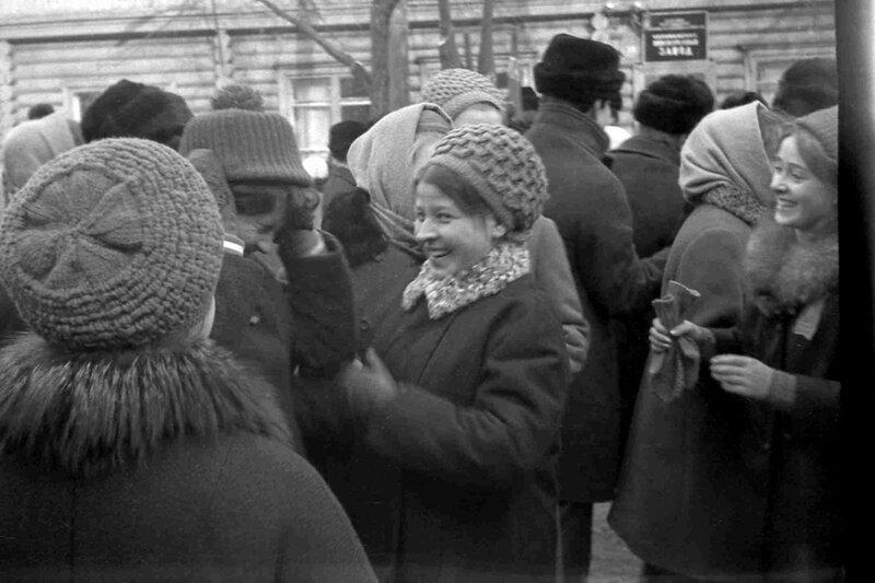Челябинск. 1970 г. 7 ноября.