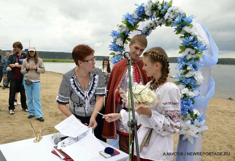 Свадьбы на Селигере 2012