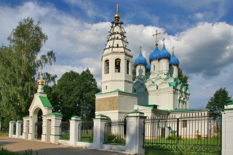 Батюшково, Никольский храм