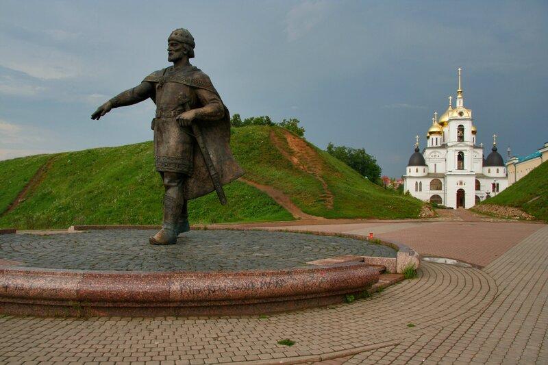Памятник Юрию Долгорукому, Дмитров