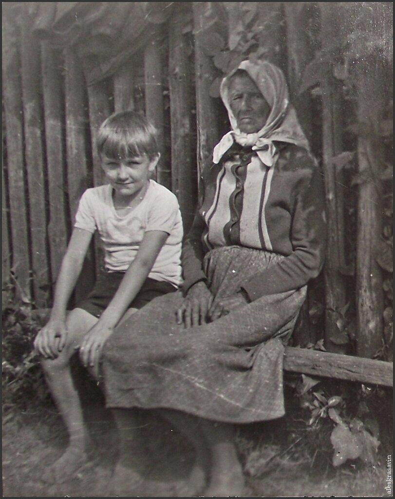 Я с бабушкой. 1978 год